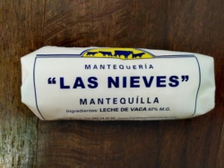 Mantequilla natural.