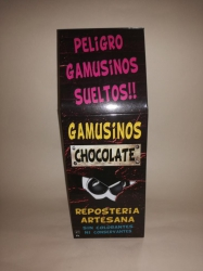 Gamusinos de Chocolate.